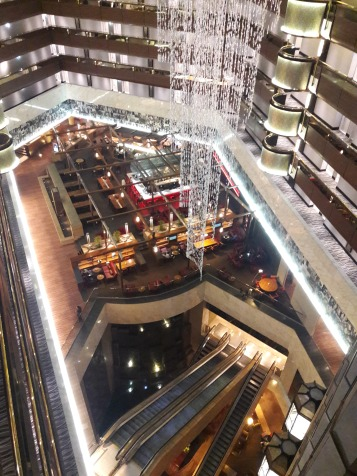 The grand Southern Sun Hotel in Sandton City, Johannesburg