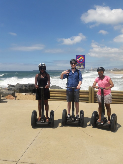Segway Tour of the Durban Coastline